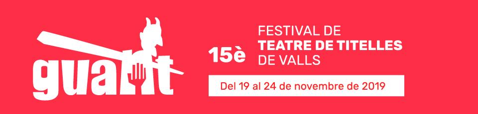 15è Festival internacional de teatre de titelles de Valls | Programació a Valls '19